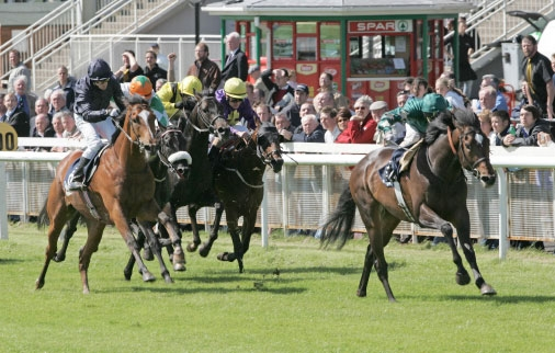 A Classic high for Imad and Saleh as Araafa winsthe Irish 2000 Guineas at The Curragh in 2006