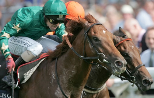 In a tight finish Hamoody lands the Richmond Stakes at Glorious Goodwood