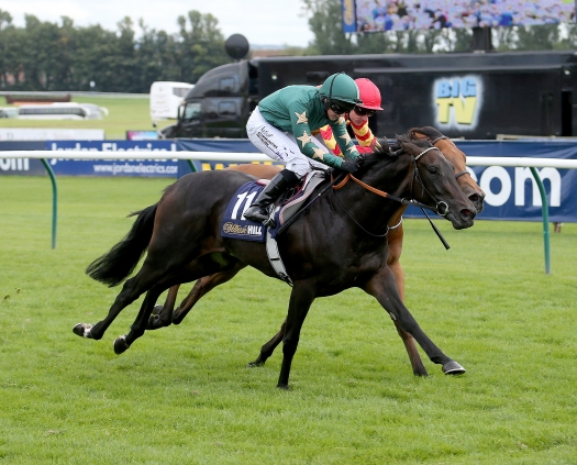Shaden wins the Firth of Clyde Stakes at Ayr under Hayley Turner