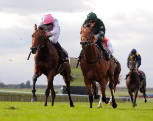 Azraff: easy winner at Newbury