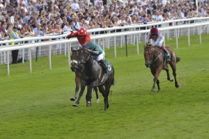 Ajaya storms to victory in the Gimcrack Stakes