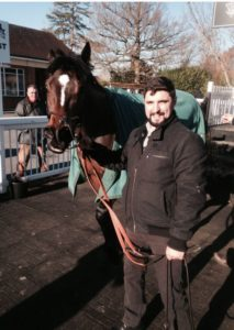 Blue Revelation pictured after winning at Lingfield